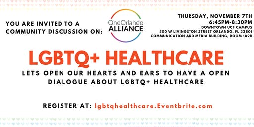 One Orlando Alliance Community Discussion on Healthcare