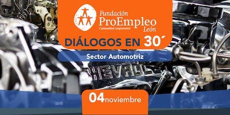 Diálogos en 30´ Sector Automotriz entradas