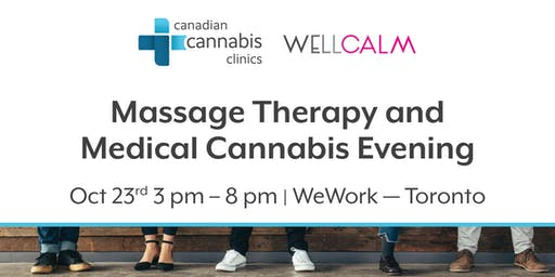 Massage Therapy and Medical Cannabis Evening
