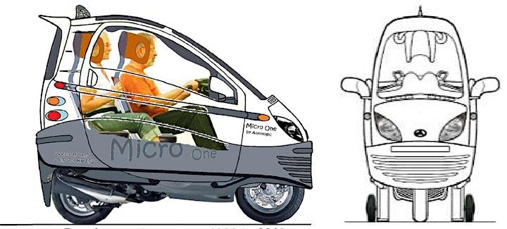 Image pour Lundi 2 décembre - Micro-One, le véhicule urbain de demain.
