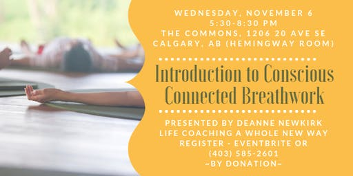 Introduction to Conscious Connected Breathwork