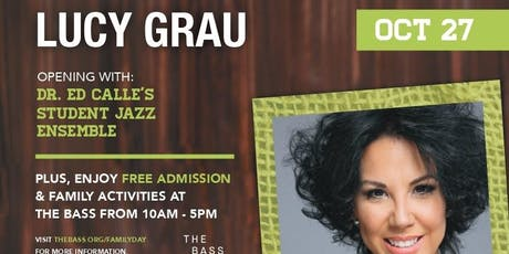 Lucy Grau sings in Collins Park -- and More! tickets