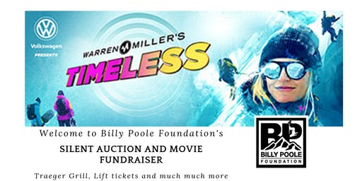 Billy Poole Foundation Fundraiser - Movie and Silent Auction