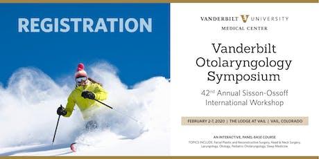 2020 VANDERBILT Otolaryngology Symposium tickets