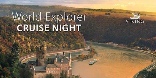World Explorer Cruise Night featuring Viking Cruises - SurDel