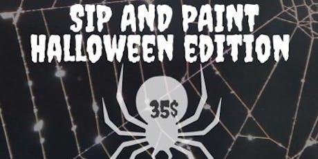 Sip n Paint: Halloween Edition tickets