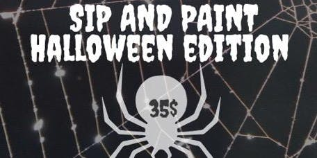 Sip n Paint: Halloween Edition