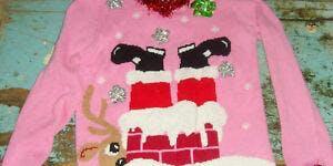 Pink Mug Society (PMS) Ugly Sweater Social