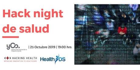 Hack Night de Salud boletos