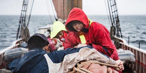 World (Ocean School) Premier: BDEA aboard Roseway