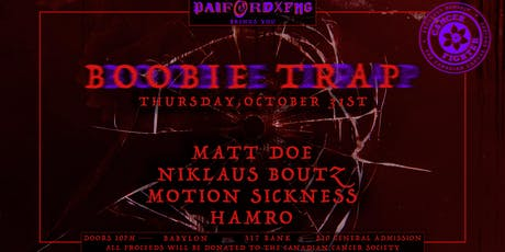 Booobie Trap w/ Matt Doe & Friends | Oct. 31st tickets