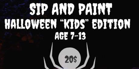 Halloween Kids Paint Party