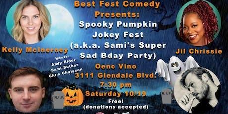 Best Fest Comedy Presents: Spooky Pumpkin Jokey Fest tickets