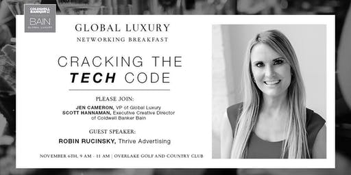 CB Bain | Global Luxury Networking | Overlake Golf and Country Club | November 6th 2019