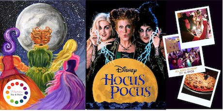Museica's BYOB Dine & Paint Night - HOCUS POCUS (Pizza & movie included!) tickets