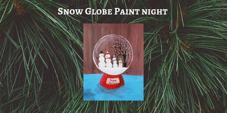 Snow Globe Paint Night - Fuzzy's Lounge tickets