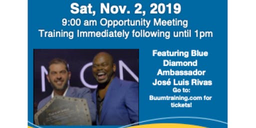 iBuumerang Opportunity & Training with José Luis Rivas & Tommy Johnson!