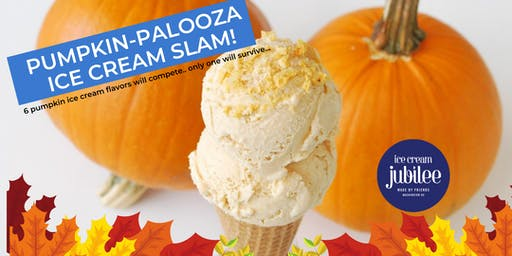 Pumpkin-Palooza Ice Cream Slam!