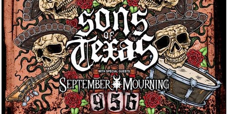 Sons Of Texas & September Mourning at Mesa Theater tickets