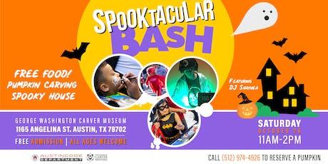 Spooktacular Bash 2019 tickets
