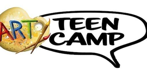 DROP OFF Teen Art Camp