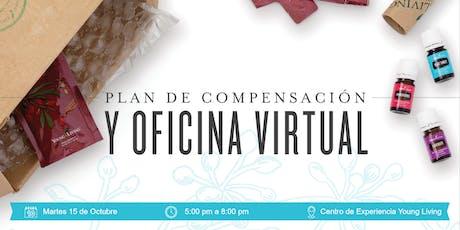 Plan de Compensación y Oficina Virtual entradas