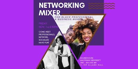 Networking Mixer - Black Professionals & Business Women tickets