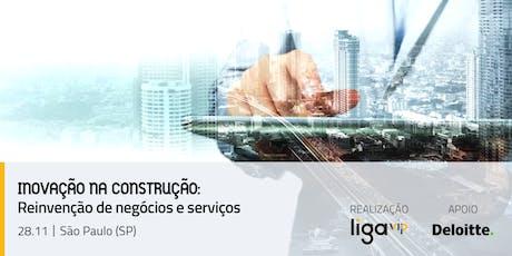 INOVAÇÃO NA CONSTRUÇÃO - Reinvenção de negócios e serviços ingressos
