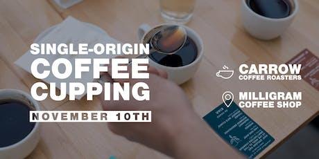 Single-origin Coffee Cupping tickets
