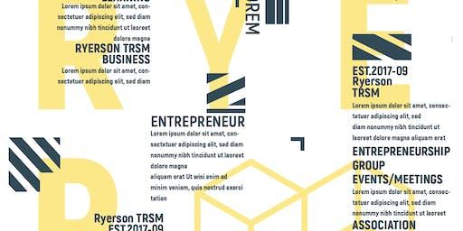 Ryerson Entrepreneurship Association Launch Event