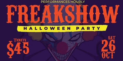 "Tamiami Tap ""Freakshow"" Halloween Party"