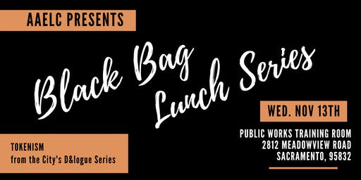 AAELC Black Bag Lunch Training
