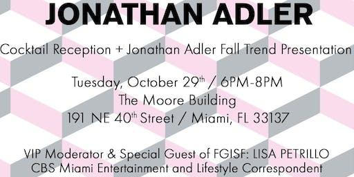Jonathan Adler / Fall Trend Presentation