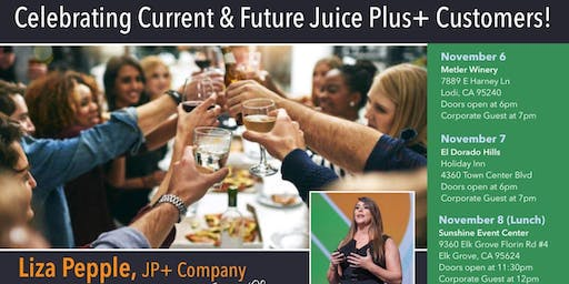 Liza Pepple The Care and Quality of Juice Plus - Guest