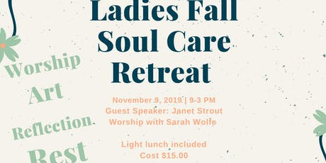 Ladies Fall Mini-Retreat tickets