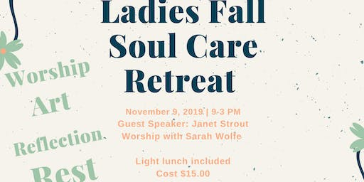 Ladies Fall Mini-Retreat