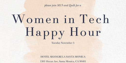 Women in Tech Networking Happy Hour