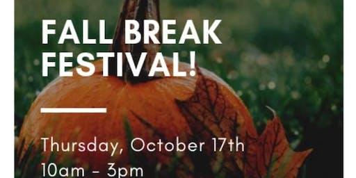 Free Fall Break Festival!