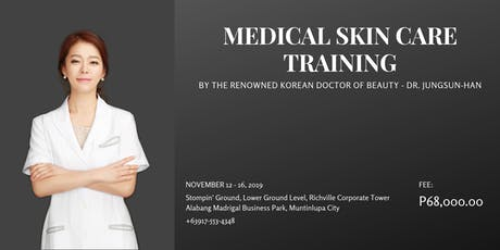 Medical Skin Care Training tickets
