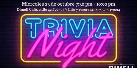 Trivia Night entradas