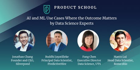 AI and ML Use Cases Where the Outcome Matters by Data Science Experts tickets