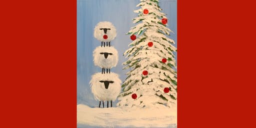 Holiday Sheep Stack