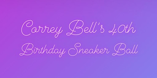Correy Bell's Frozen 40th Birthday Sneaker Ball