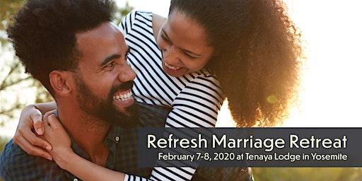 Refresh Marriage Retreat 2020