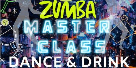 Zumba Master Class : Baila & Bebe   Drink & Dance tickets