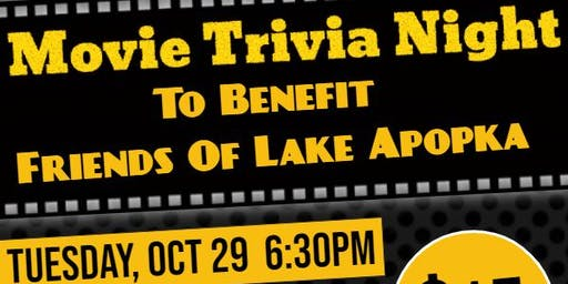 Movie Trivia Night to benefit Friends of Lake Apopka