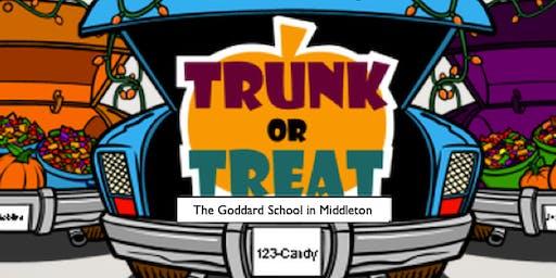 Trunk or Treat at Goddard