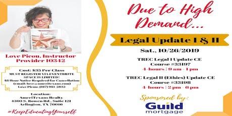 TREC LEGAL UPDATE II tickets
