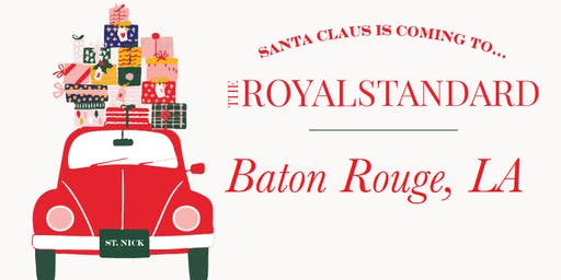 Photos with Santa (Baton Rouge, LA)