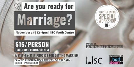 Are you ready for marriage? tickets